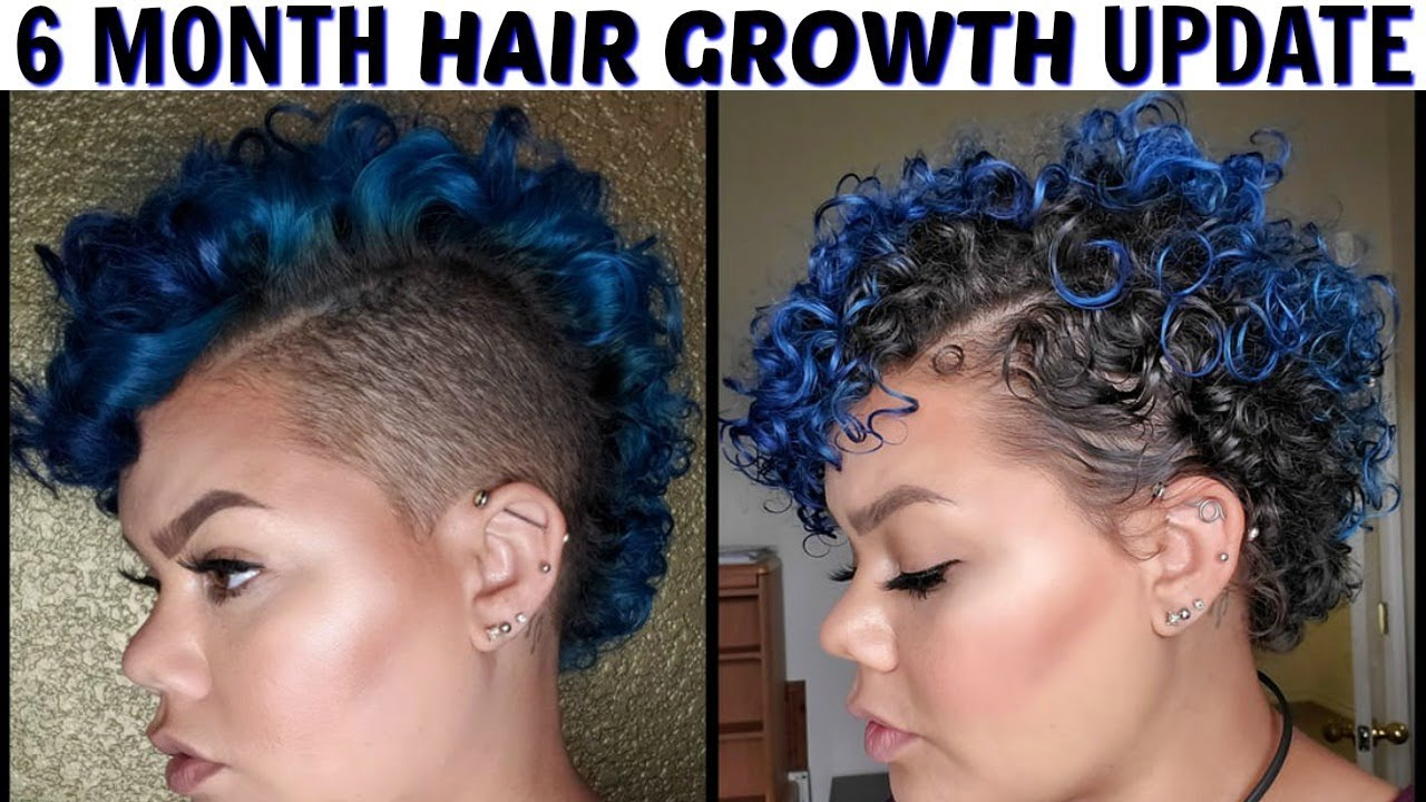 6 Month Update Hair Growth Growing Out Shaved Sides Youtube