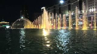 Поющие фонтаны в Астане