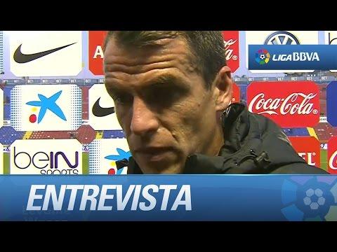 Entrevista a Duda tras el Levante UD (0-1) Málaga CF