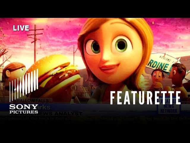 """Cloudy With A Chance of Meatballs """"Sam Sparks"""" Featurette"""