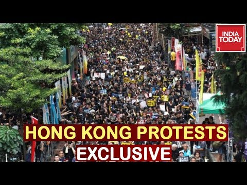 India Today Exclusive : Ground Report Of Hong Kong Protests   Full