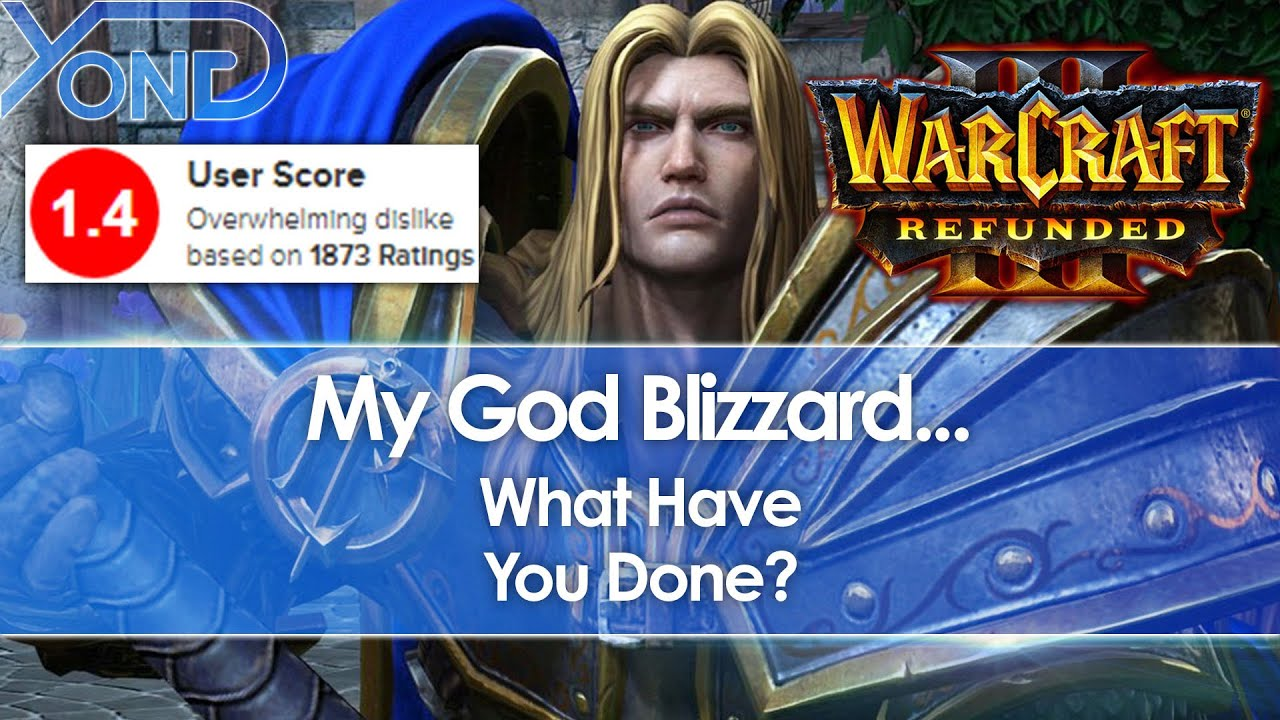 Blizzard Faces Mass Revolt After Warcraft 3 Reforged Launch