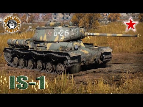 War Thunder: The IS-1, Russian Tier-3, Heavy Tank