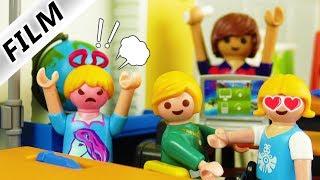 Playmobil Film deutsch | NILS SCHNÖSEL IN HANNAHS KLASSE - Neuer Streber? Kinderserie Familie Vogel