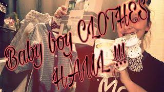 baby boy clothing haul !!