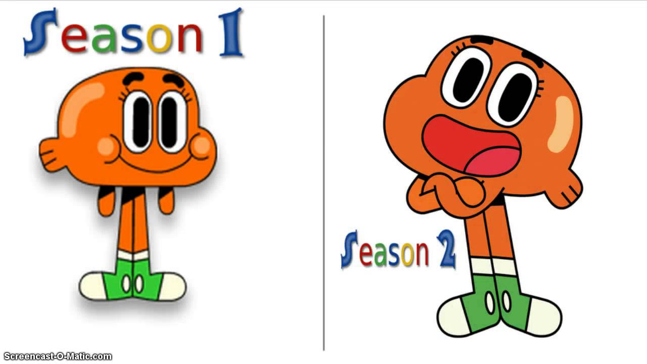 World Of Gumball Characters Before And After Youtube