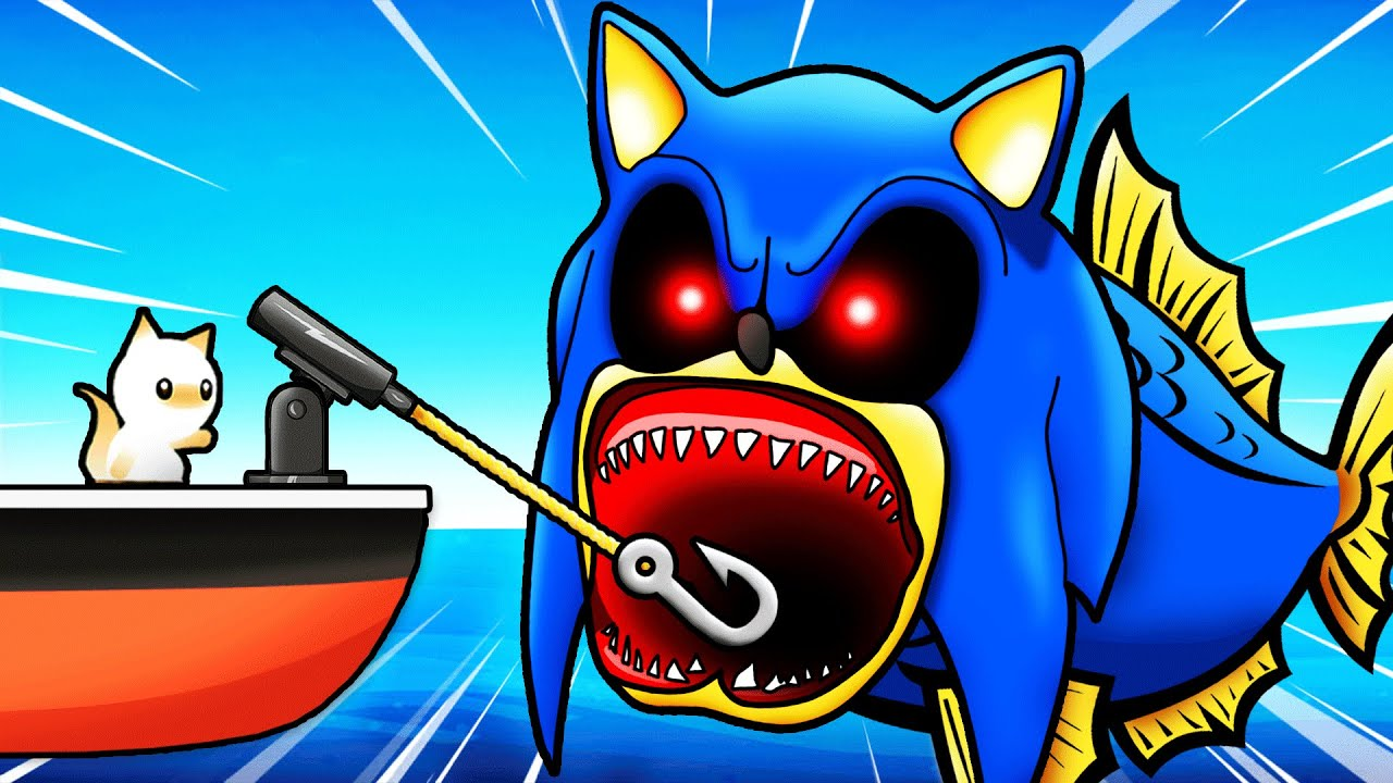 Catching SONIC.EXE SHARK (Secret)