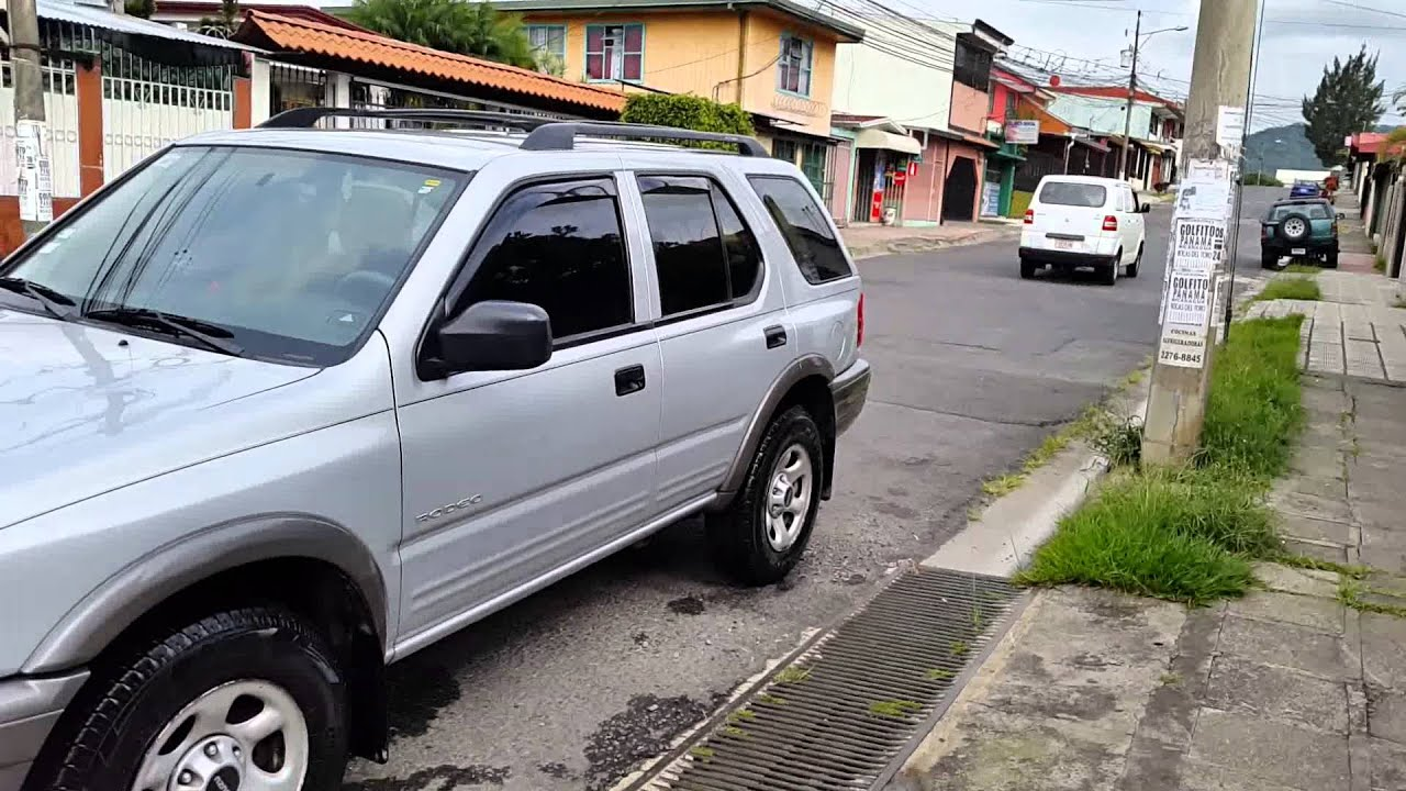 isuzu rodeo 2002 leonardo perez youtube