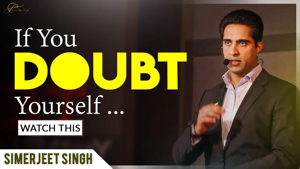 Download Self Belief Motivation | Believe in Yourself Motivational Video | Simerjeet Singh #QuotesThatInspire