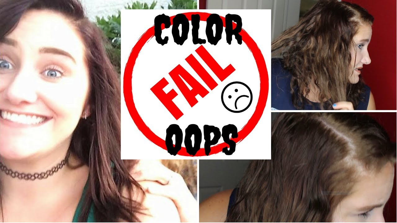 Color Oops Fail Dark Brown To Blonde Makeup By Beth Feimster
