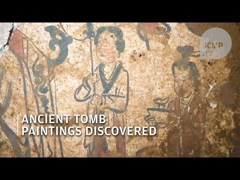 Rare ancient tomb with wall paintings found in China