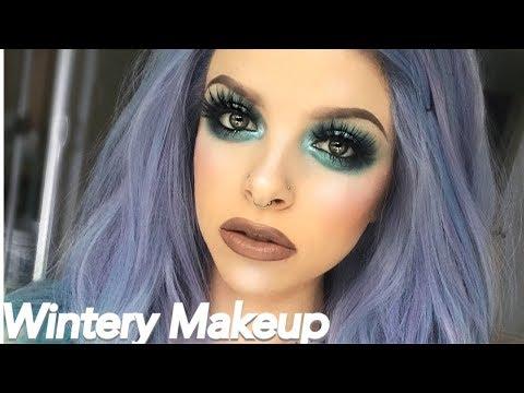 Wintery Makeup Tutorial | COLOUR CREEP