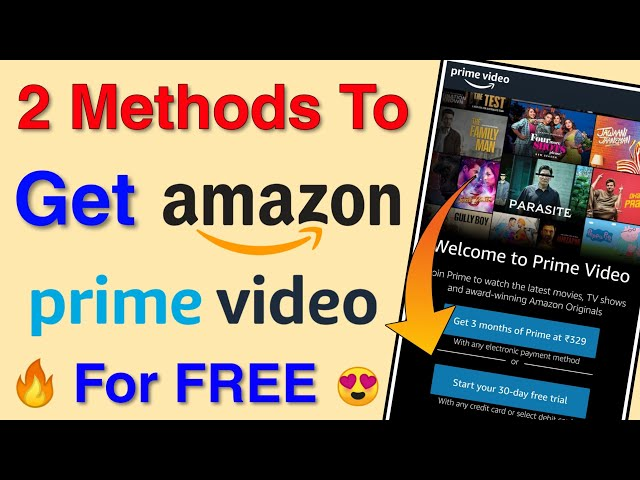Two Best Methods To Get Amazon Prime Membership - One Month Free & Amazon Youth Offer   Amazon Prime
