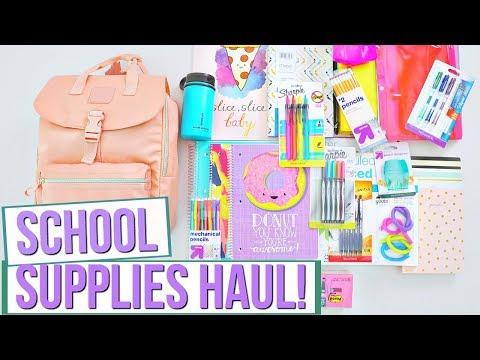 School Supplies Haul | Back To School!