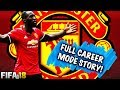 FIFA 18 | MANCHESTER UNITED FULL CAREER MODE STORY