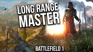 BATTLEFIELD 1 LONG RANGE SNIPER SWEET SHOTS | BF1 Scout Gameplay