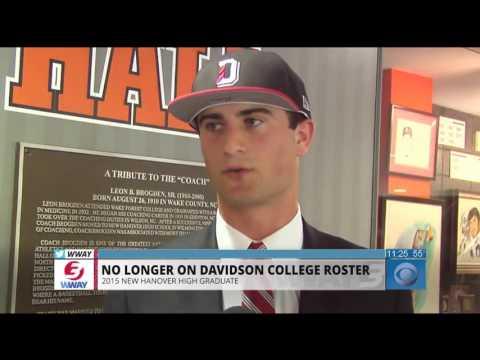Ward Coleman No Longer On Davidson College Baseball Roster