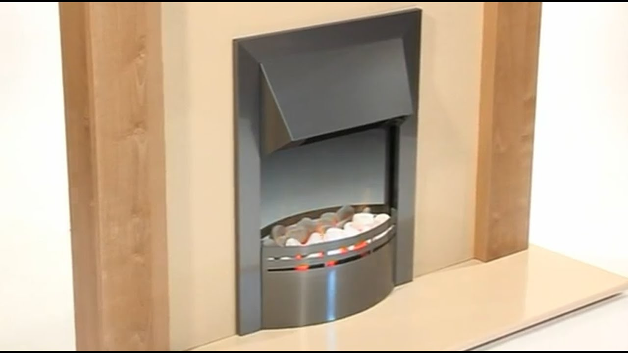 dimplex dakota electric fire inset optiflame technology youtube