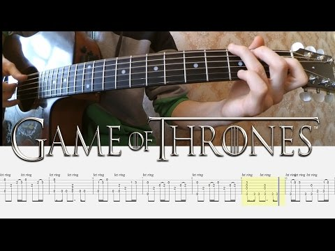 [Игра Престолов] Как играть на гитаре (Game of Thrones) + ТАБЫ | Уроки гитары от PlayThis#6