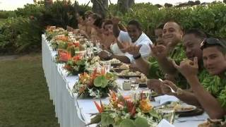 A Hawaiian Wedding -- Bula And Ashley Akamu Reception Part One