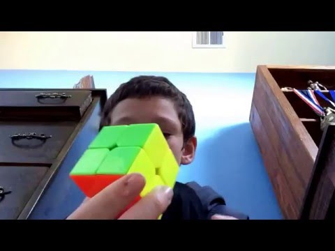 2 cool tricks that you can do with the 2x2 Rubik's cube!