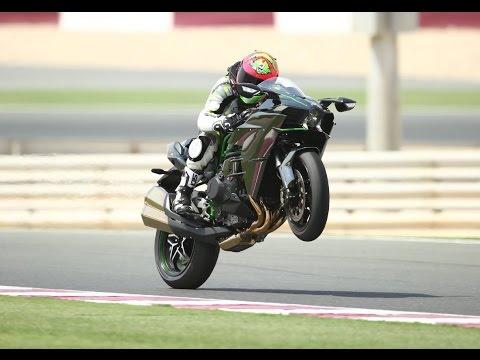 Kawasaki H2 & H2r Full Review (Bike World)