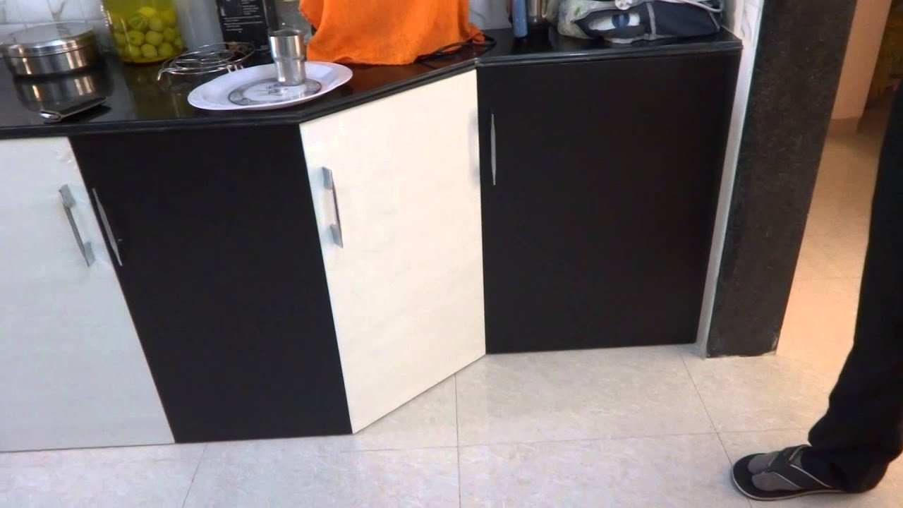 Two Colour Combination Vedio In Modular Kitchen In Baroda
