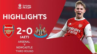 Smith Rowe & Aubameyang Seal Win For Holders | Arsenal 2-0 Newcastle (AET) | Emirates FA Cup 2020-21