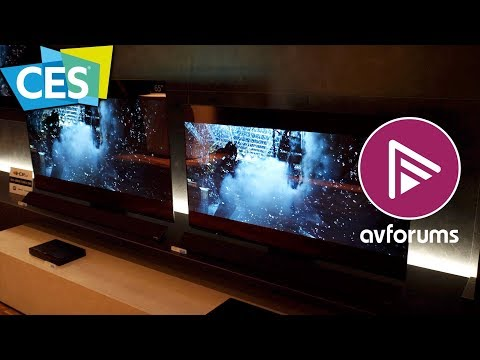 CES 2018 - Panasonic answer your OLED TV Questions