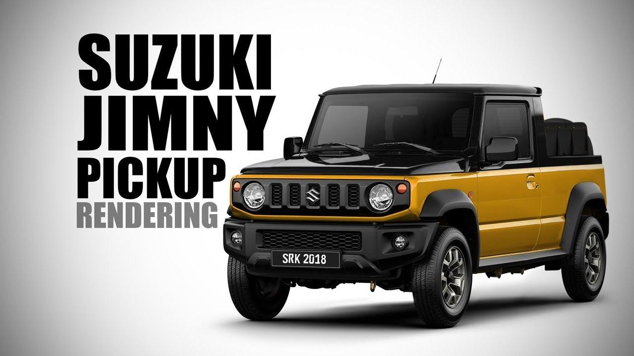 Prächtig 2018 Suzuki Jimny Pickup - Rendering - Making Video   SRK Designs @RN_75