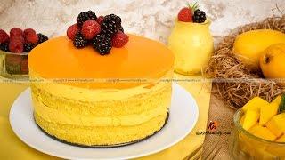 Mango Mousse Cake  Kothamally