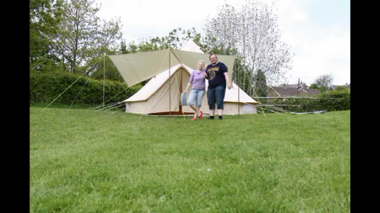 Karma Canvas Bell Tent take down In Time Lapse C&ing in Ipsones & Karma Canvas Bell Tent take down In Time Lapse Camping in Ipsones ...