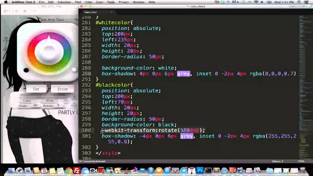 Color picker online rgba - Coding White Black Button To Color Picker