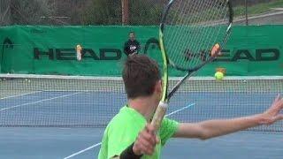 [2017] Tennis, le lezioni del maestro Conti: DRITTO in TOPSPIN, traiettorie e profondità