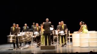 Les Renegades Steel Band à la Folle journée de Saumur (Maine-et-Loire) le 25 janvier 2015