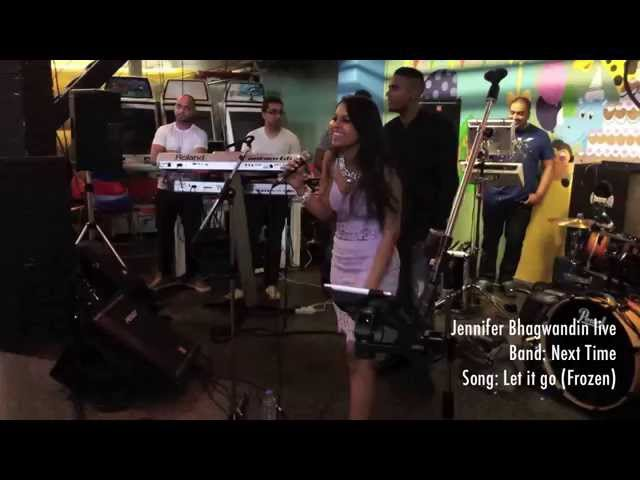 Let it go cover by Jennifer Bhagwandin