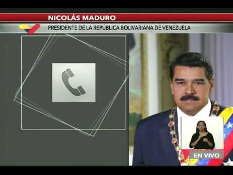 Presidente Maduro llama a Con El Mazo Dando y conversan sobre medidas contra el coronavirus