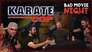The Bad Movie Night gang review the 1991 action movie Karate Cop Fo...