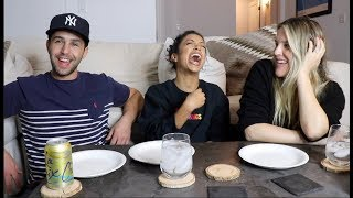 Download EATING OUR FEELINGS WITH LIZA KOSHY AND MY WIFE! PART 1 Mp3 and Videos