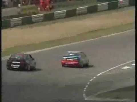 BTCC 1993 Brands Hatch Indy Ódor great overtake