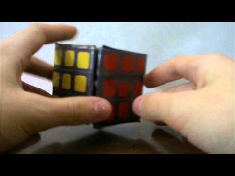 Homemade Rubik's Cube toy