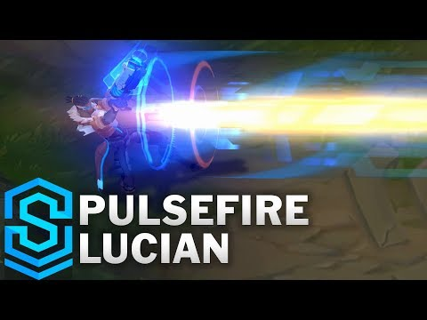 Pulsefire Lucian Skin Spotlight - Pre-Release - League of Legends