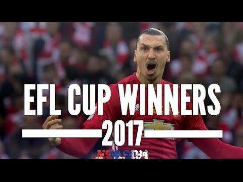 Manchester United EFL Cup 2017 Winners (HD)