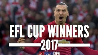 Manchester United EFL Cup 2017 Winners (HD)