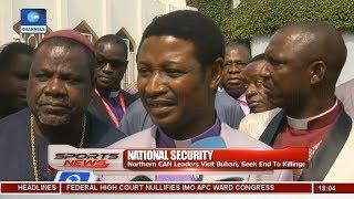 Northern CAN Leaders Visit Buhari, Seek End To Killings Across Nigeria