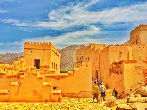 Nizwa fort plus AL-nakhal fort in oman