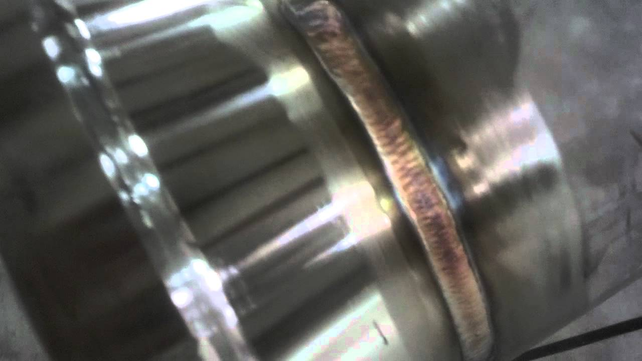Tig welding stainless pipe by adam wolsmann pt youtube