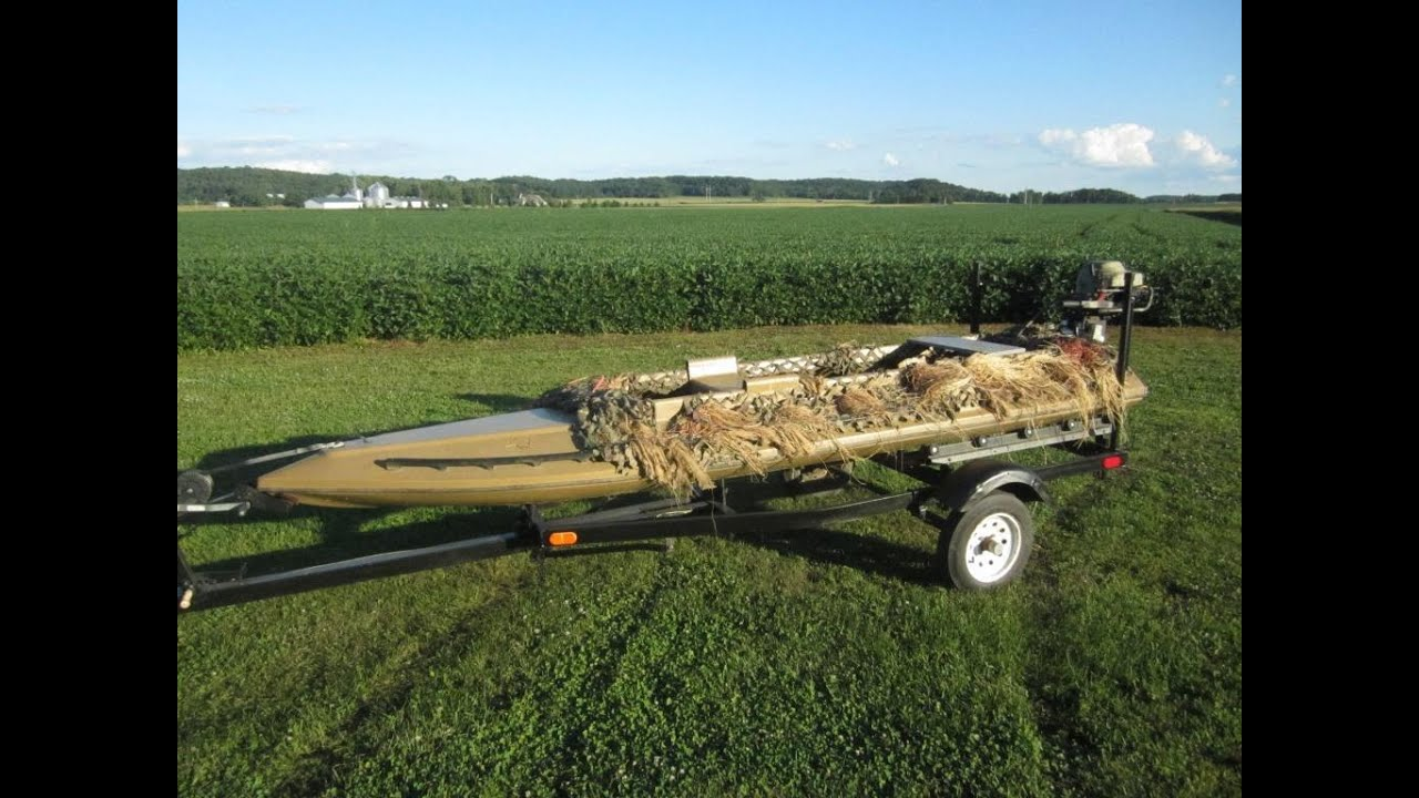 Duck Hunting Boats For Sale >> Carstens Canvasback Duck Hunting Boat For Sale 2400 Obo Youtube