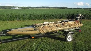Carstens Canvasback Duck Hunting boat For Sale $2400 OBO
