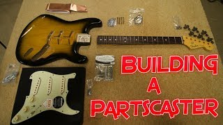 Building a Partscaster Stratocaster Guitar: Genuine Fender Parts